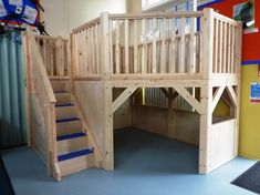 loft room; lofts would be great in some of our schools with limited space.