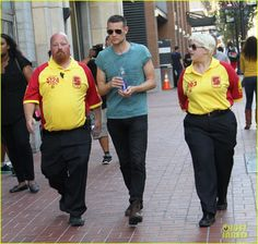 Matt Smith Roams the Comic-Con Halls Before Sunday's Panel