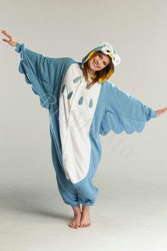 KIGURUMI Animal Pajamas Pyjamas Costume Onesie Adult owl