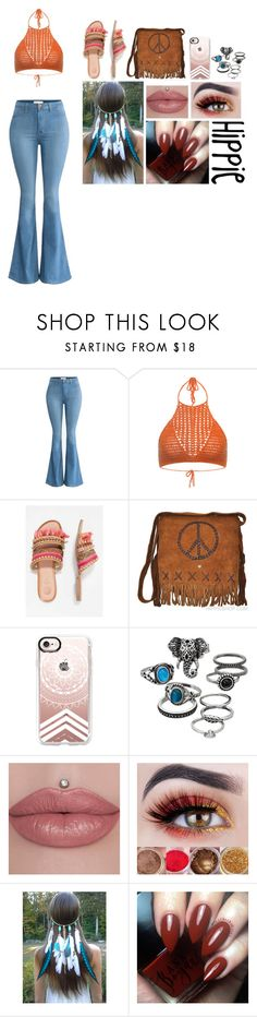 """""""hippie"""" by sarcasm-central ❤ liked on Polyvore featuring Casetify and Mudd"""