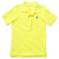 Carters® Boys 2T-4T Pique Polo #VonMaur #Carters #Polo #Yellow #Bright