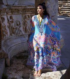 """Sun Dancer  Gaudi Tribute now sitting pretty in store and online. With love xx  #camillawithlove #resort #resort15 #kaftan #boho #bohemian #style #turkey"""