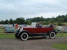 Stanley steam car, (1923)