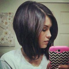 #haircut #shorthair #bobhaircut #bob #angledbob #stackedbob thanks to @nicoleelizabetho
