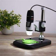 USB Digital Microscope 50X- 1000X 2MP Endoscope Electronic Magnifier Camera With Holder Stand 8LED //Price: $34.03//     #shopping