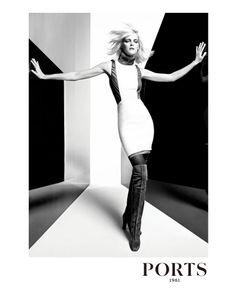 Carmen Kass | Inez & Vinoodh #photography | Ports 1961 Fall 2012 Ad Campaign