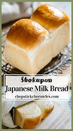 """Shokupan is Japanese Milk Bread and has a fluffy and """"Mochi"""" like texture. This is the best Shokupan recipe for Japanese food lovers and bakers. Discover how to make Super soft Japanese milk bread with the """"Yudane"""" method. This method guarantees soft texture and stays moist for longer than ordinary bread. #Shokupan #Japanesemilkbread #bread #Japanesebread #yudane Japanese White Bread Recipe, Japanese Milk Bread, Japanese Food, Japanese Desserts, Japanese Recipes, Japanese Bakery, Japanese Dishes, Milk Bread Recipe, Banana Bread Recipes"""