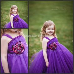 Find More Flower Girl Dresses Information about Cheap Purple Toddler Ball Gown…
