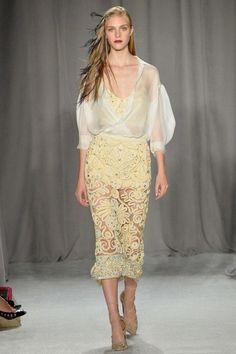 Весна-лето 2014-2015, Нью-Йорк, Ready-To-Wear, Marchesa