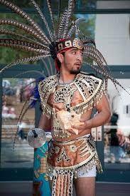 Resultado de imagen para traje tipico azteca hombre