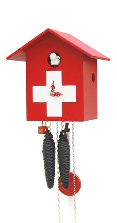 Modern cuckoo clock 1 day running time RH KSSL-SWISS NEW in Home & Garden, Home Décor, Clocks | eBay