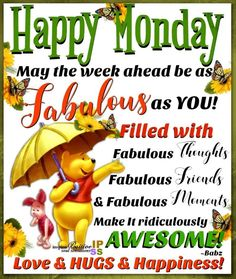 May the week ahead be as fabulous as you monday quotes happy monday new week fab. - Hharris May the week ahead be as fabulous as you monday quotes happy monday new week fab. Good Morning Happy Monday, Monday Morning Quotes, Happy Monday Quotes, Monday Humor Quotes, Monday Motivation Quotes, Happy Week, Weekend Quotes, Good Night Quotes, Morning Memes