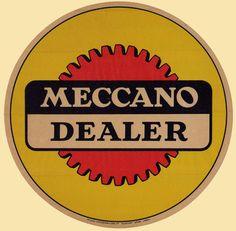 Meccano dealer sign