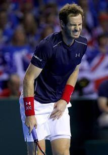 Copa Davis. El agotamiento de Andy Murray después de perder ante la Argentina: