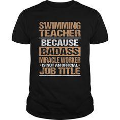 SWIMMING-TEACHER Check more at http://swimmingteeshirts.com/?p=2655