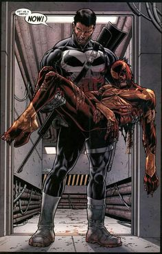 The Punisher and Spider-Man.........
