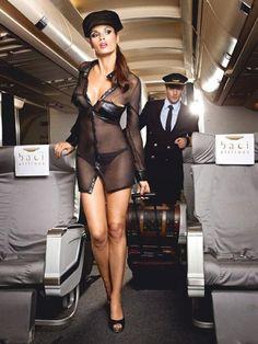 3-Delig Stewardessenuniform voor  € 29,95. Zomer Sale Wilde Willie Weken