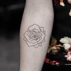 Small Rose Tattoos | POPSUGAR Beauty