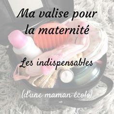 Ma valise pour la maternité, les indispensables (d'une maman écolo)   3 notes de chlorophylle
