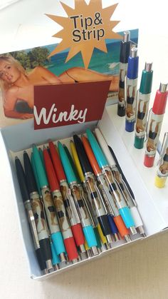 Tip and strip pens, my first fap was to one of these babies, ahh dem  nostalgic feels! Such wizardry!