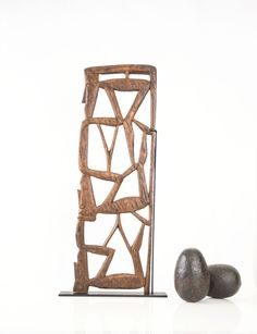 Makonde African Family Tree Carving and Stand