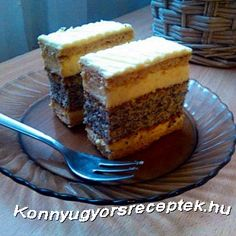 Francia mákos krémes recept Cheesecake, Pudding, Food, France, Cheesecakes, Custard Pudding, Essen, Puddings, Meals