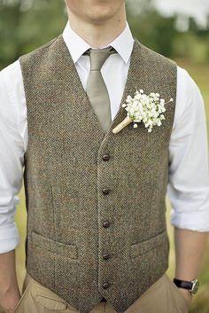rustic groom attire 1