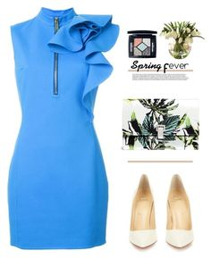 """""""What a Frill: Ruffles"""" by mycherryblossom ❤ liked on Polyvore featuring Dsquared2, Christian Louboutin, Proenza Schouler and Christian Dior"""
