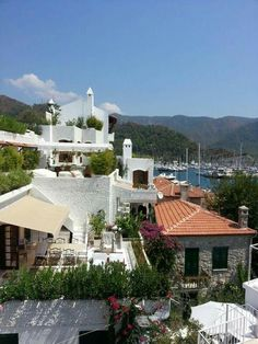 Marmaris Marmaris Turkey, Blue Mosque, Relaxing Places, Ottoman Empire, Cozy House, Old Town, Istanbul, Beautiful Places, Mansions