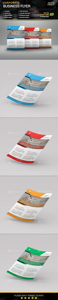 Corporate Flyer Tamplate - http://www.codegrape.com/item/corporate-flyer-tamplate/8146