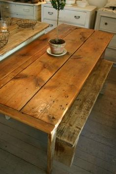 love this table top..wouldnt mind that finish on my floor