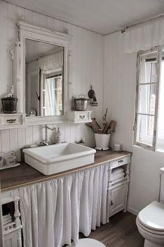 Il bagno vintage chic