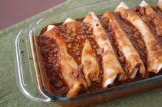 Chili Bean Burritos | Vegetarian Casserole Queen