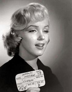 Marilyn Monroe - November 8, 1952 - in Gentlemen Prefer Blondes - hair and makeup test