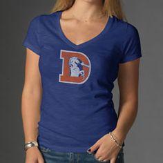 Denver+Broncos+Women's+'47+Brand+G2+Legacy+Logo+Scrum+V-Neck+T-Shirt+$37.99+http://www.fansedge.com/Denver-Broncos-Womens-47-Brand-G2-Legacy-Logo-Scrum-V-Neck-T-Shirt-_-357016453_PD.html?azproducts=28-51152=pinterest_pfid28-51152