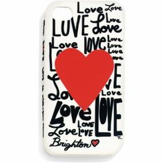Fashionista Love iPhone 4 Case available at #BrightonCollectibles