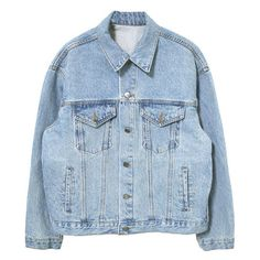 Scout Denim jacket (€107) ❤ liked on Polyvore featuring outerwear, jackets, tops, coats, jean jacket, blue jean jacket, denim jacket, blue denim jacket and blue jackets