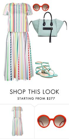 """""""Senza titolo #4507"""" by marcellamic ❤ liked on Polyvore featuring Mira Mikati, Alexander McQueen and Valentino"""
