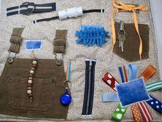 Fidget quilt - ribbon block