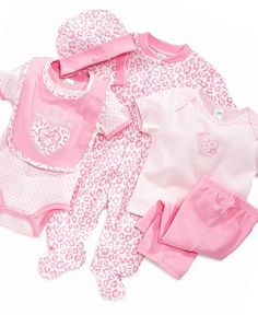Cutie Pie Baby Set, Baby Girls 6 Piece Hanging Set - Kids - Macy's