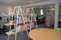 ladders shelving