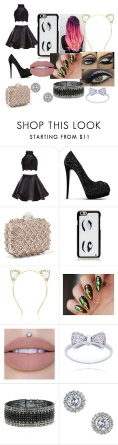 """Embellished Shoes & Bags"" by hotpink179 ❤ liked on Polyvore featuring Alyce Paris, Giuseppe Zanotti, Jimmy Choo, Kate Spade, Anne Klein, Miss Selfridge, fashionset and ebmellished"