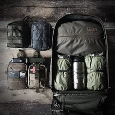 It's nice to have a bag for everything 👌🏻 Who has all the tactical gear they can handle❓ If not go to 👉🏻 👈🏻 and treat… Bushcraft Camping, Bushcraft Gear, Camping Survival, Survival Prepping, Survival Skills, Survival Gear, Camping Gear, Outdoor Camping, Backpacking