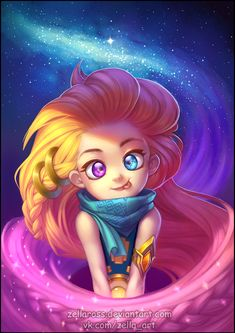 My fanart on Zoe