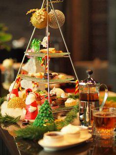 Christmas afternoon tea at Glen Bar