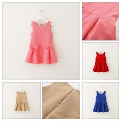 New Arrival Sundress Paid Bow Casual Dresses Fashion Girls Sweet Ruffles Party Dresses Stylish Top Quality Sundresses Soft Cotton Dress from Smartmart,$56.55 | DHgate.com