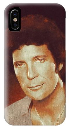 Tom Jones, Music Legend IPhone X Case for Sale by Mary Bassett. Protect your iPhone X with an impact-resistant, slim-profile, hard-shell case. The image is printed directly onto the case and wrapped around the edges for a beautiful presentation. Simply snap the case onto your iPhone X for instant protection and direct access to all of the phone's features!