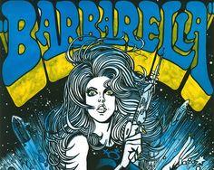 Kája Saudek, Barbarella, filmový plakát, 1971 Barbarella Comic, Pop Art, Comic Books, Cover, Illustration, Artist, Artwork, Instagram, Poster