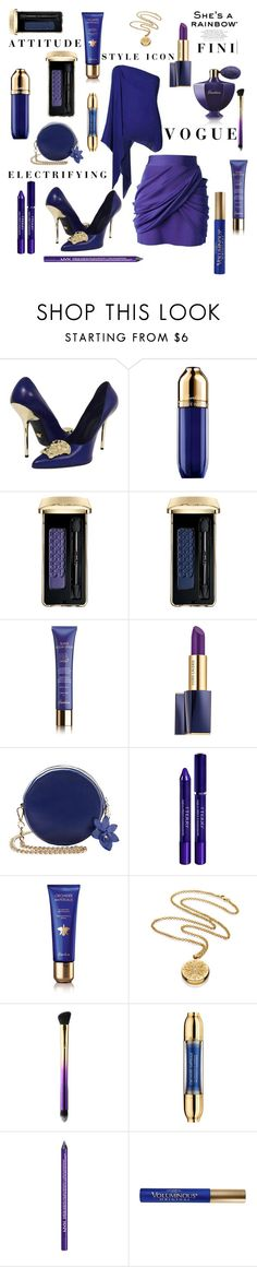"""Attitude"" by fini-i ❤ liked on Polyvore featuring Versace, Guerlain, Estée Lauder, By Terry, tarte, NYX and L'Oréal Paris"