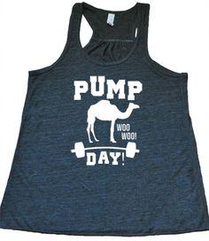 Pump Day Woo Woo Shirt - Gym Shirt - Working Out Shirt - Funny